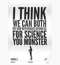 SCIENCE! Poster