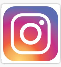 Instagram logo Sticker
