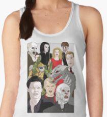 Buffy Big Bad Poster Women's Tank Top