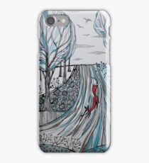 Frosty morning for Foxy iPhone Case/Skin