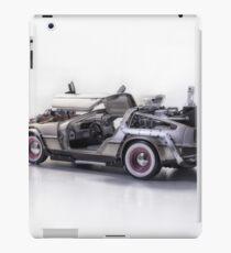 Delorean Back To The Future III iPad Case/Skin