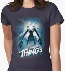 Stranger Things The Thing Mashup Womens Fitted T-Shirt