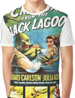 Vintage poster - Creature from the Black Lagoon Graphic T-Shirt