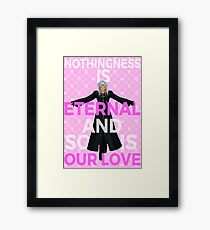 Kingdom Hearts - Xemnas Eternal Love Framed Print