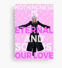 Kingdom Hearts - Xemnas Eternal Love Canvas Print