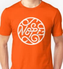 Nope - Typographic Art T-Shirt