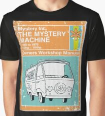 Mystery Manual Graphic T-Shirt