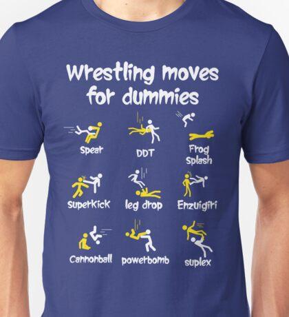 wrestling moves for dummies Unisex T-Shirt