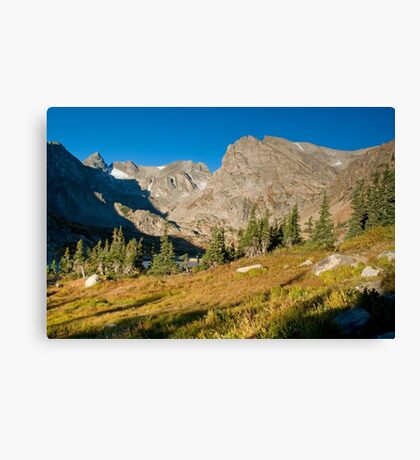 Indian Peaks Canvas Print