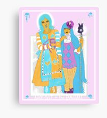 Alice cult + The Familiars Canvas Print