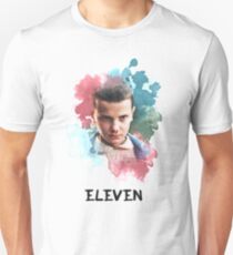 Eleven - Stranger Things - Canvas T-Shirt