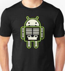 Android skeleton Camiseta ajustada