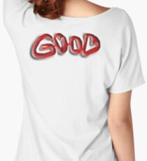 Good, Evil, illusion,  Right, Wrong, Optical illusion, Visual illusion, Women's Relaxed Fit T-Shirt