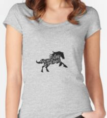 Wild Horses Women's Fitted Scoop T-Shirt