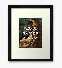 Rubens Raised a Cain Framed Print