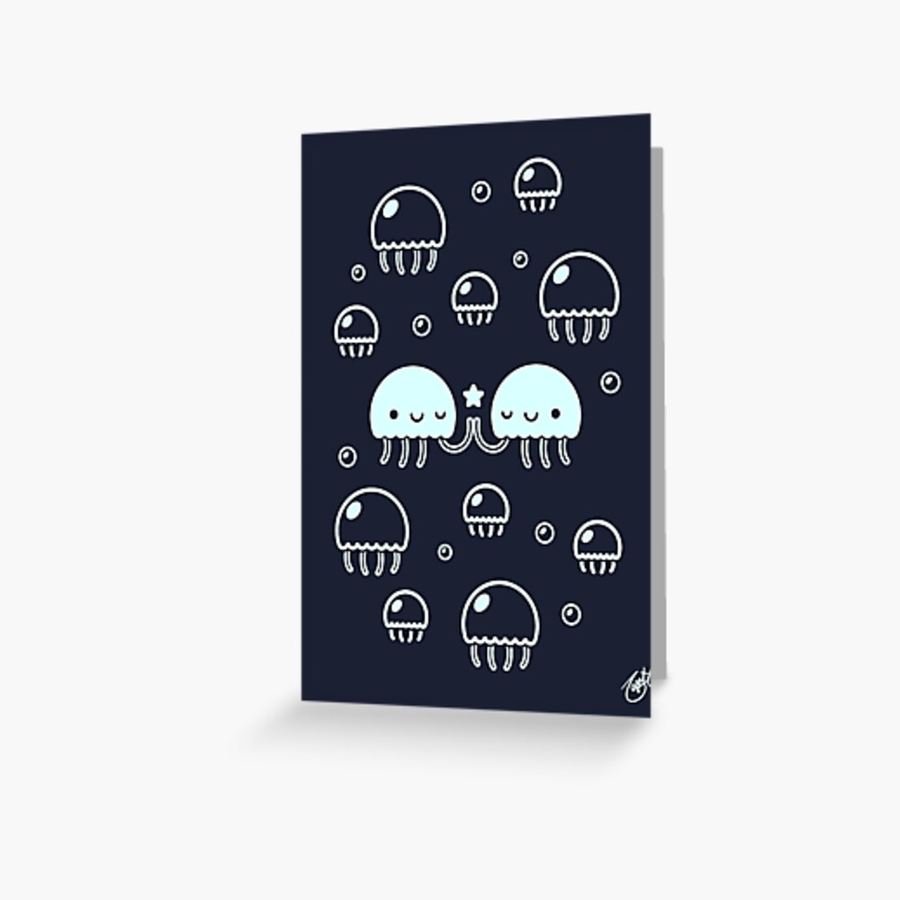 Jelly Pals Greeting Card