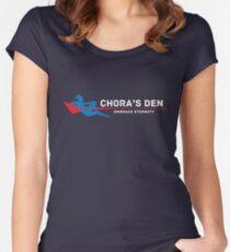 Chora's Den | Mass Effect Women's Fitted Scoop T-Shirt