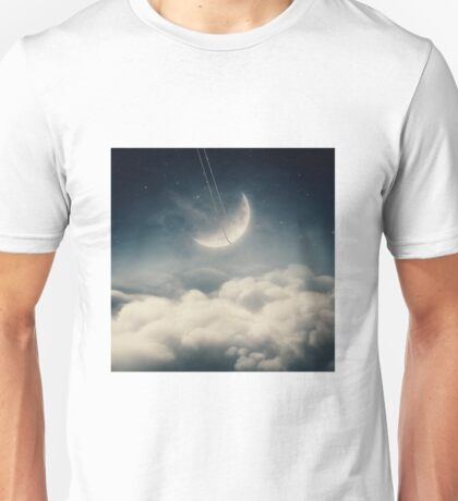The swinging moon Unisex T-Shirt