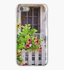 Shabby Chic Beach Cottage   iPhone Case/Skin