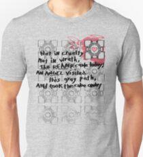 Companion Cube graffiti T-Shirt