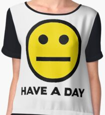Have A Day Chiffon Top