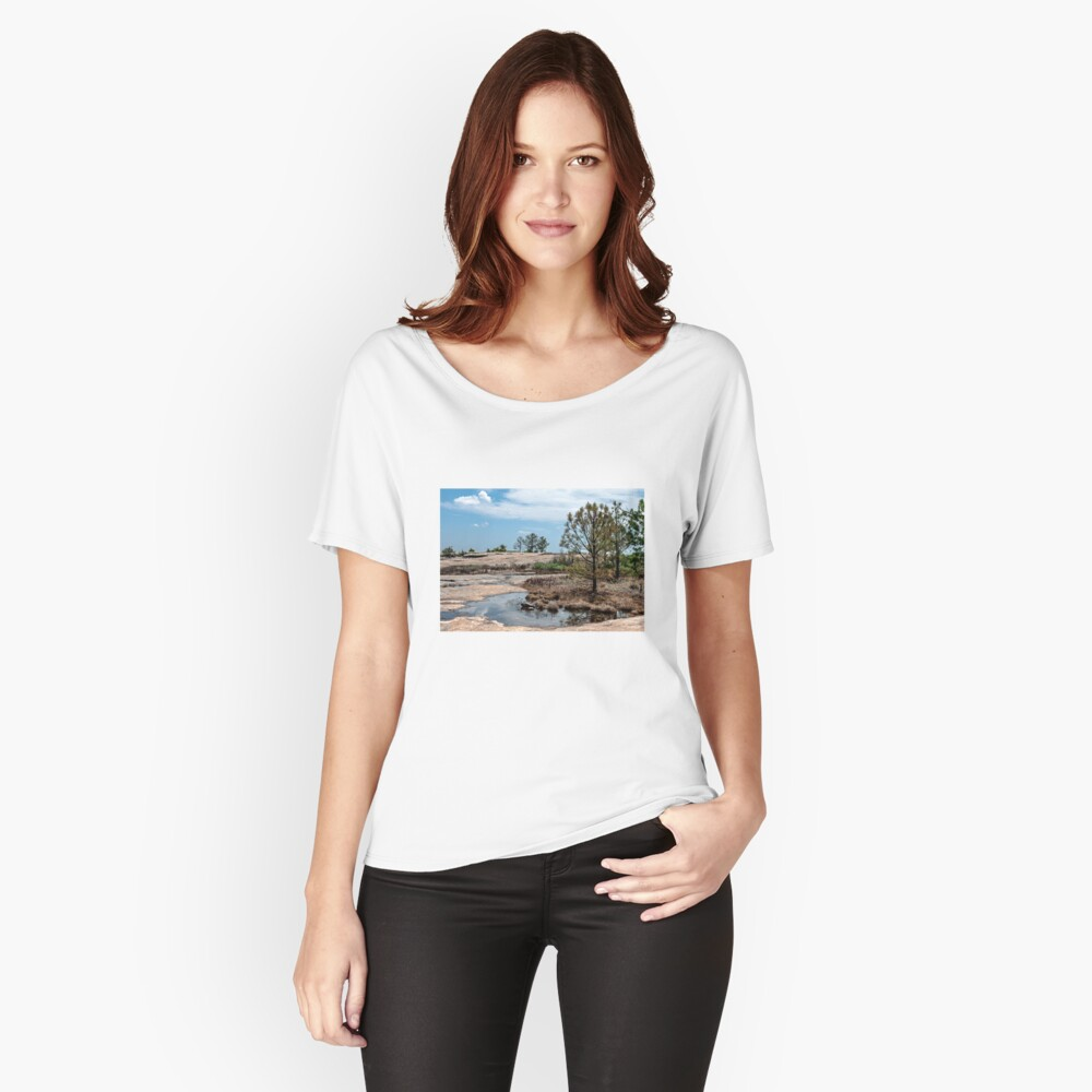 Arabia Mountain Women's Relaxed Fit T-Shirt Front