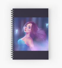 Fading Fairy Spiral Notebook