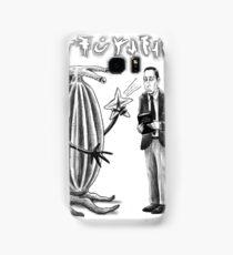 HP Lovecraft and Elder Thing Samsung Galaxy Case/Skin