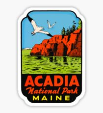 Acadia National Park Maine USA decal Sticker