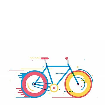 Unisex Bicycle Illustration by coldhands
