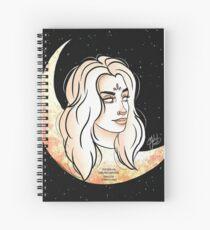 Cuaderno de espiral Lauren ft. La luna