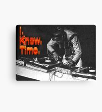 Dj Grandmaster Flash Tribute  Canvas Print
