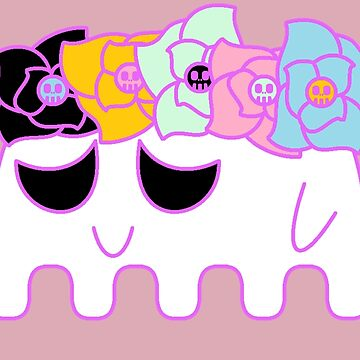 Flower Ghoul by RoseCraft
