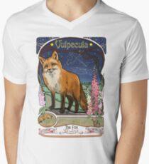 Fox and Foxgloves Constellation Vulpecula Art Nouveau Style T-Shirt