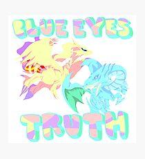 Blue Eye's Truth Photographic Print