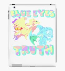 Blue Eye's Truth iPad Case/Skin