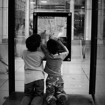 Chicago Bus Stop  by Ghelly
