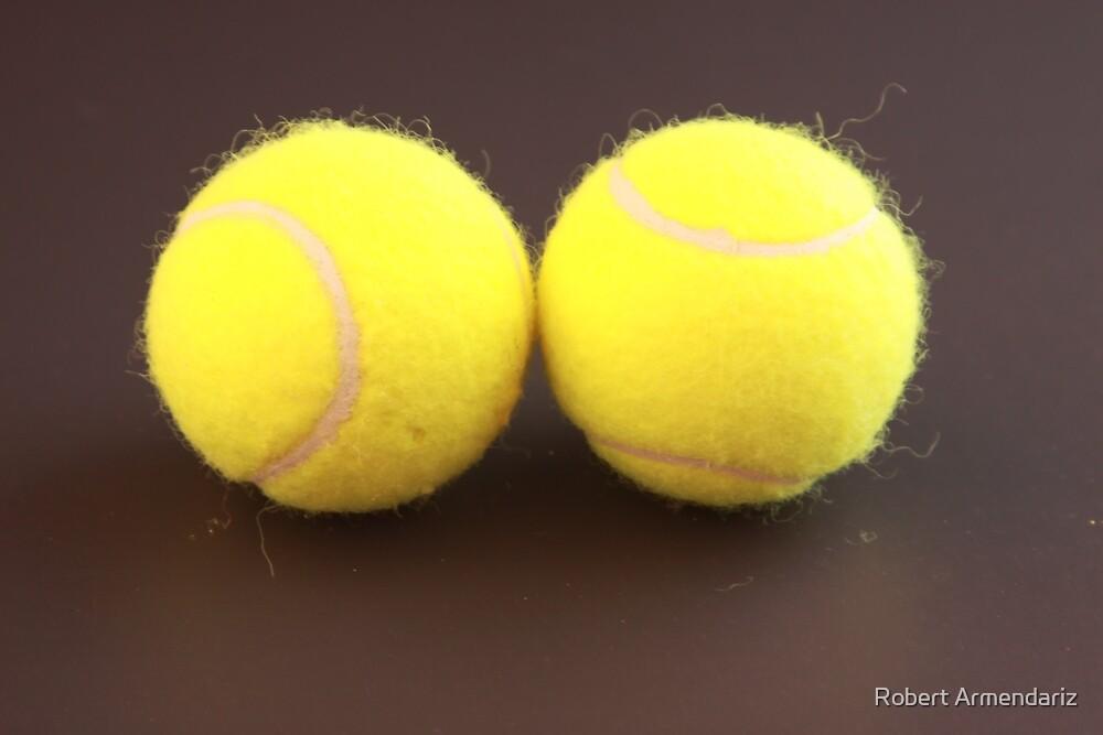 Tennis Balls by Robert Armendariz