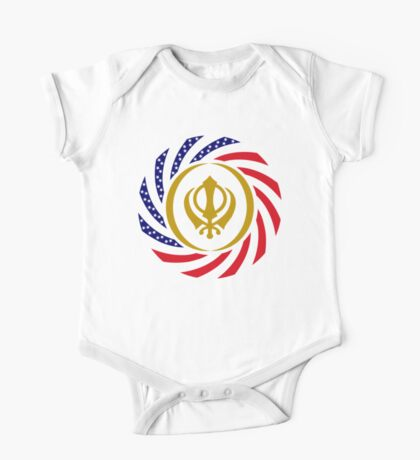 Sikh American Patriot Flag Series Kids Clothes