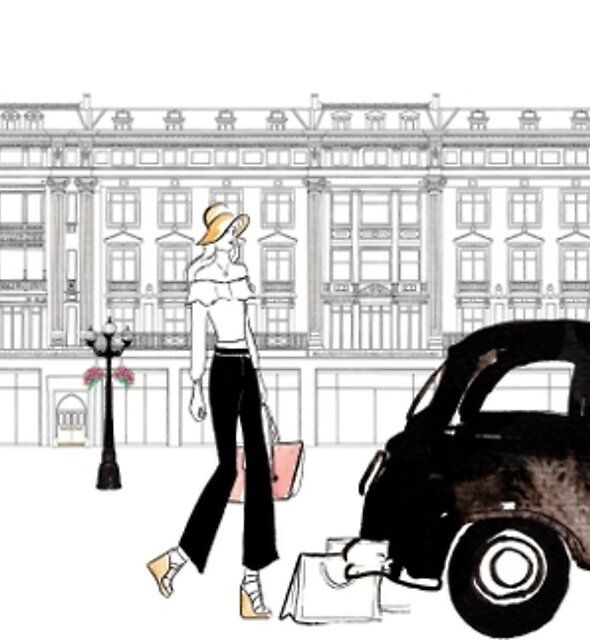 Along Regents Street by Eleni Fall into London