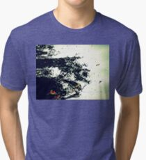 Happy Bug-Eyed Monster Tri-blend T-Shirt