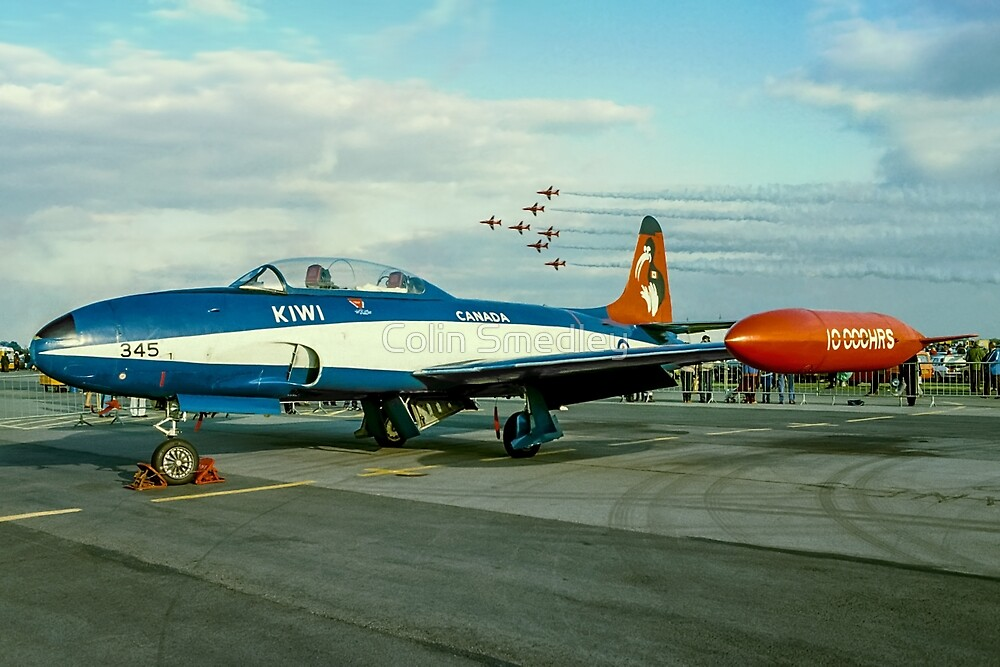 Canadair CT-133 Silver Star 133345 by Colin Smedley
