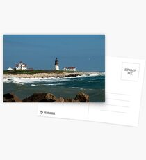 Old New England Lighthouse Postcards