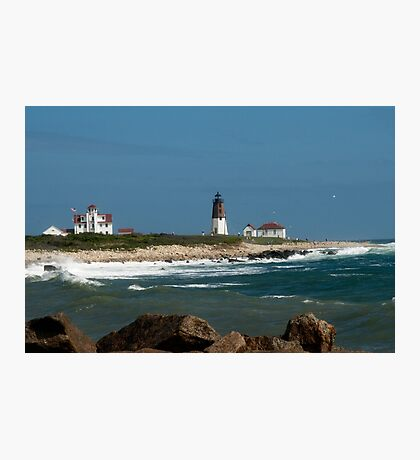 Old New England Lighthouse Photographic Print