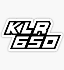 KLR 650 Sticker