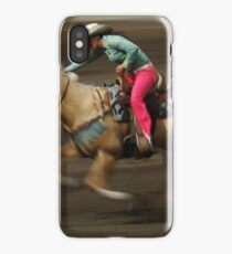 Rodeo Riding A Hurricane iPhone Case