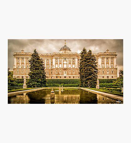Royal Palace of Madrid Photographic Print