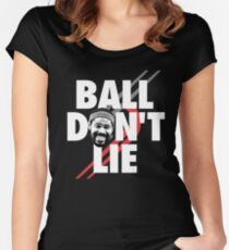 Ball Don't Lie Women's Fitted Scoop T-Shirt