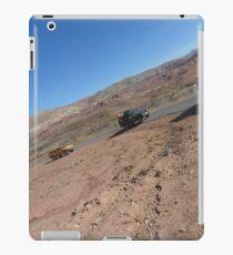 Atlas travel caravan 2 desert tablet iPad Case/Skin
