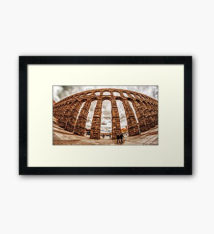 Aqueduct of Segovia Framed Print